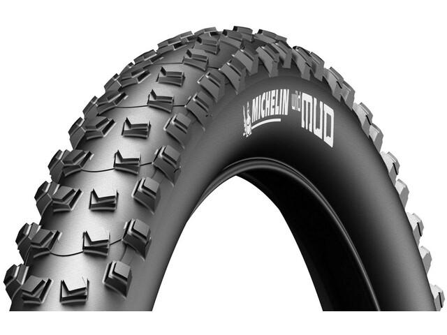 "Michelin Wild Mud Folding Tyre 26"", black"